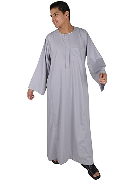 best cheap 8bef5 0414f Uomo-Kaftan Falahi-Linguetta in, colore: grigio