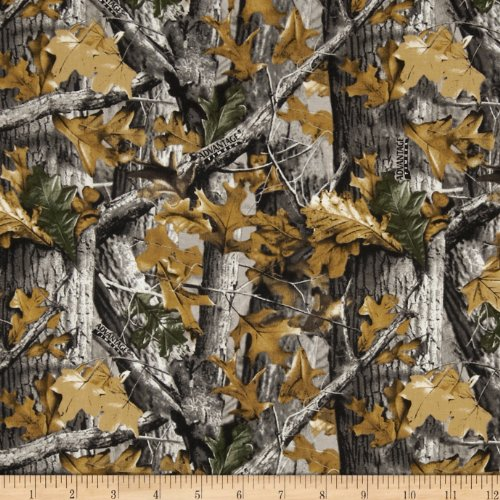 (Sykel Enterprises Plain Realtree Allover Fabric by The Yard, Multi)