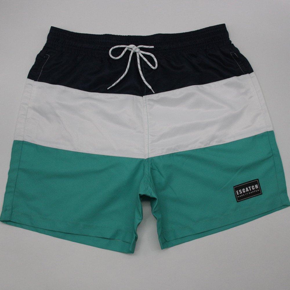 ZhixiaYS New Quick-Drying Summer Short Board Mens Siwmwear Shorts Beachwear for Men Swim Trunks