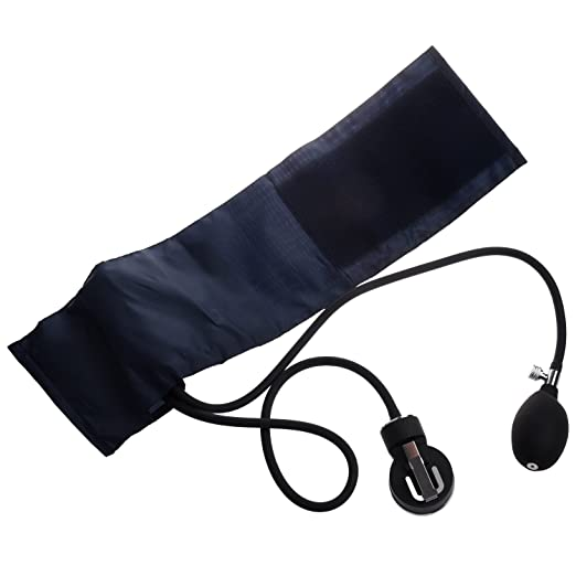 Amazon.com: SODIAL(TM) Aneroid Sphygmomanometer Cuff Blood Pressure Stethoscope Nylon Cuff Dial: Health & Personal Care