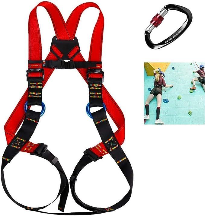 SYue Arnés de Escalada Cinturones de Seguridad Seguros para ...