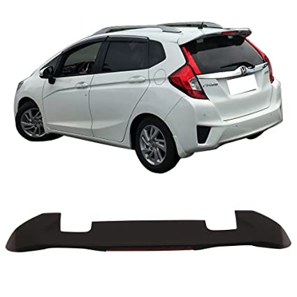 Superbe Roof Spoiler Fits 2015 2018 Honda Fit | RS Style ABS Matte Black Rear Wind