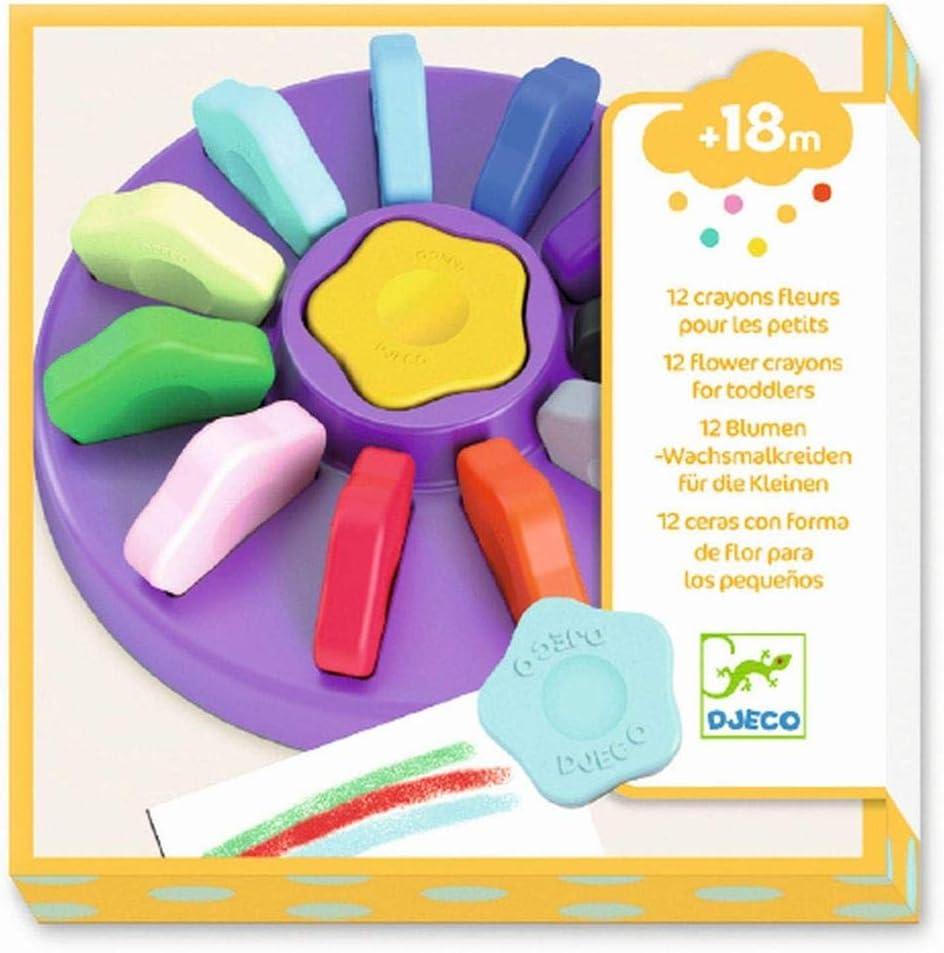 1 DJECO Small Flower 12 Colors Multi-Colour 39005