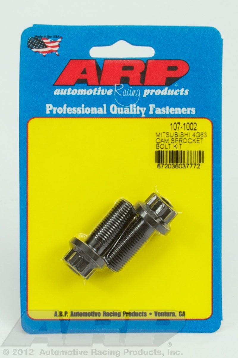 ARP 1071002 Cam Bolt Kit for Mitsubishi 4G63 Engine 107-1002