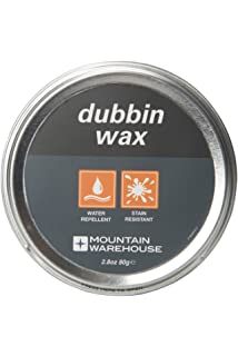 Mountain Warehouse Dubbin Wax   Suitable for All Leather Shoes  Durable Boot  Wax  Conditions