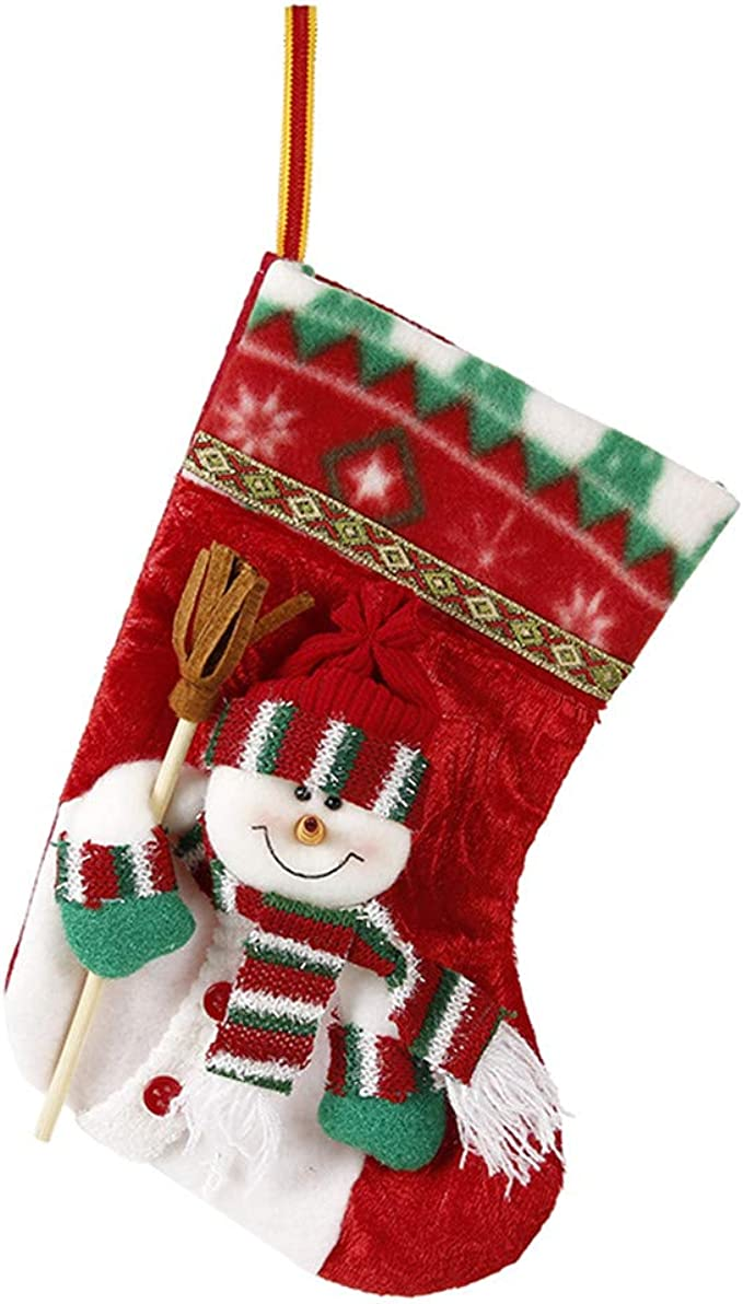 Lovely Christmas Stockings Xmas Stocks Holding Stocking Xmas Tree Decorations Party For Kids Gift Clothing