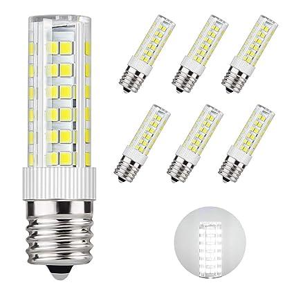 Amazon.com: Dicuno E17 Bombilla LED para horno de microondas ...