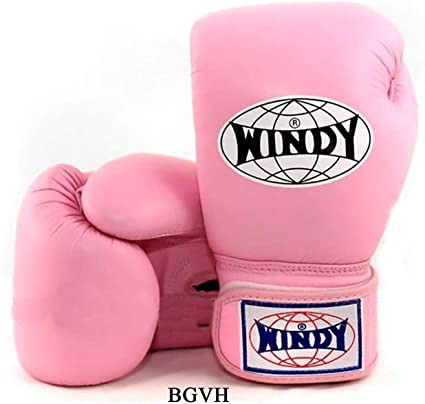 Windy BGVH Muay Thai Boxing Gloves Sparring  Kick Boxing MMA Leather