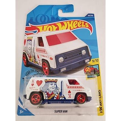 Hot Wheels 2020 Hw Art Cars Super Van, White 68/250: Toys & Games