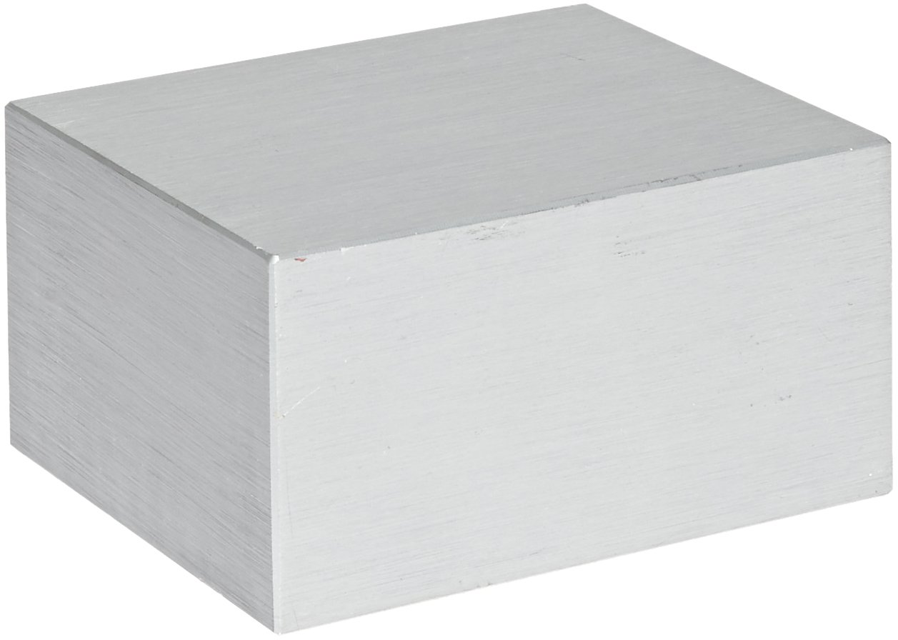 Labnet D1101 Aluminum Solid Dry Bath Block for AccuBlock Digital Dry Bath, No Holes