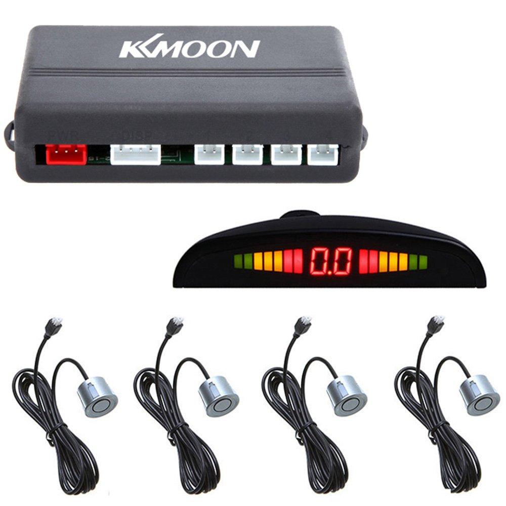 KKmoon Sistema de Radar Reserva Aparcamiento para Coche con LED Retroiluminación Pantalla