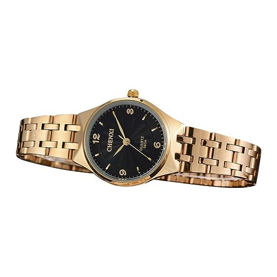Relojes para Mujeres de Acero Inoxidable Impermeable Reloj Mujer Marca de Lujo Negocios Reloje Clásico Casuales