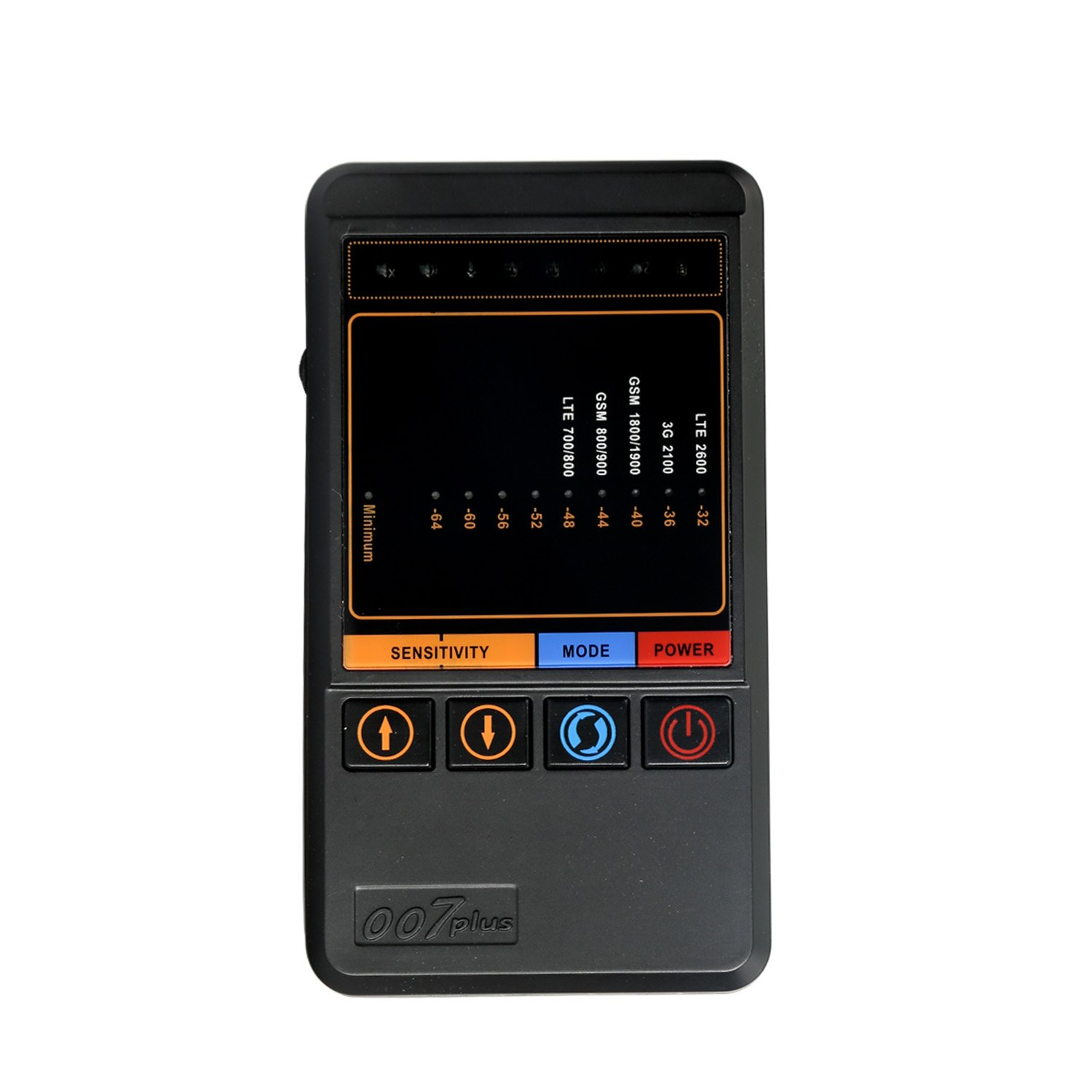 HAWKSWEEP HS-007 Plus Portable Wireless Signal Detector Wireless RF Signal Detector Spy Camera Detector Hidden Bugs Wireless GSM Mobile Phone Finder