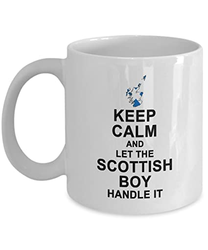 Amazon com: Scottish Gifts - Keep Calm And Let The Scottish