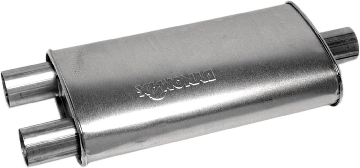 Exhaust Muffler-Ultra Flo SS Universal Muffler Dynomax 17519