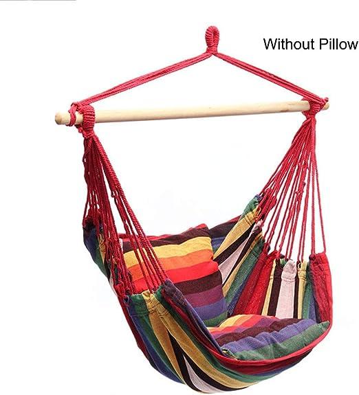 Wan&ya Silla de Hamaca, cómodo Tejido de algodón Relajante ...