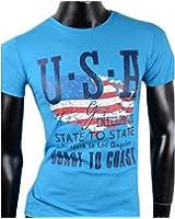 Herren T-Shirt Shirt U.S.A. 100% Baumwolle shirt Tanktop Tank top T shirt poloshirt