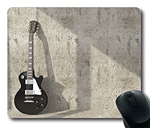 Classical Music Guitar Masterpiece Limited Design Oblong Mouse Pad by Cases & Mousepads