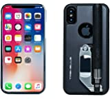 iPhone X Case, Hard Shell Protective Case Wired Selfie Stick, Black iPhone X Case, Compatible for Apple iPhone X, Light Weight, Travel + Outdoor Friendly, Case, Battery Free Case