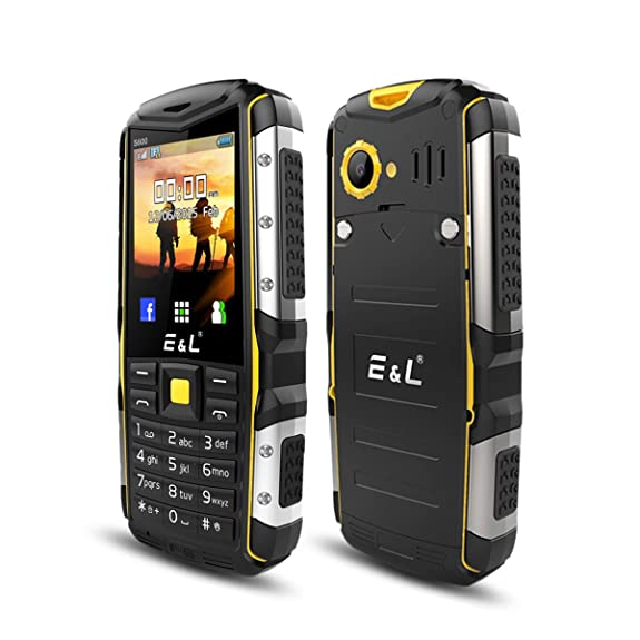 Eu0026L S600 Rugged Smartphone Unlocked With IP68 Waterproof Dustproof 2G GSM  Rugged Cell Phone Android 6.0