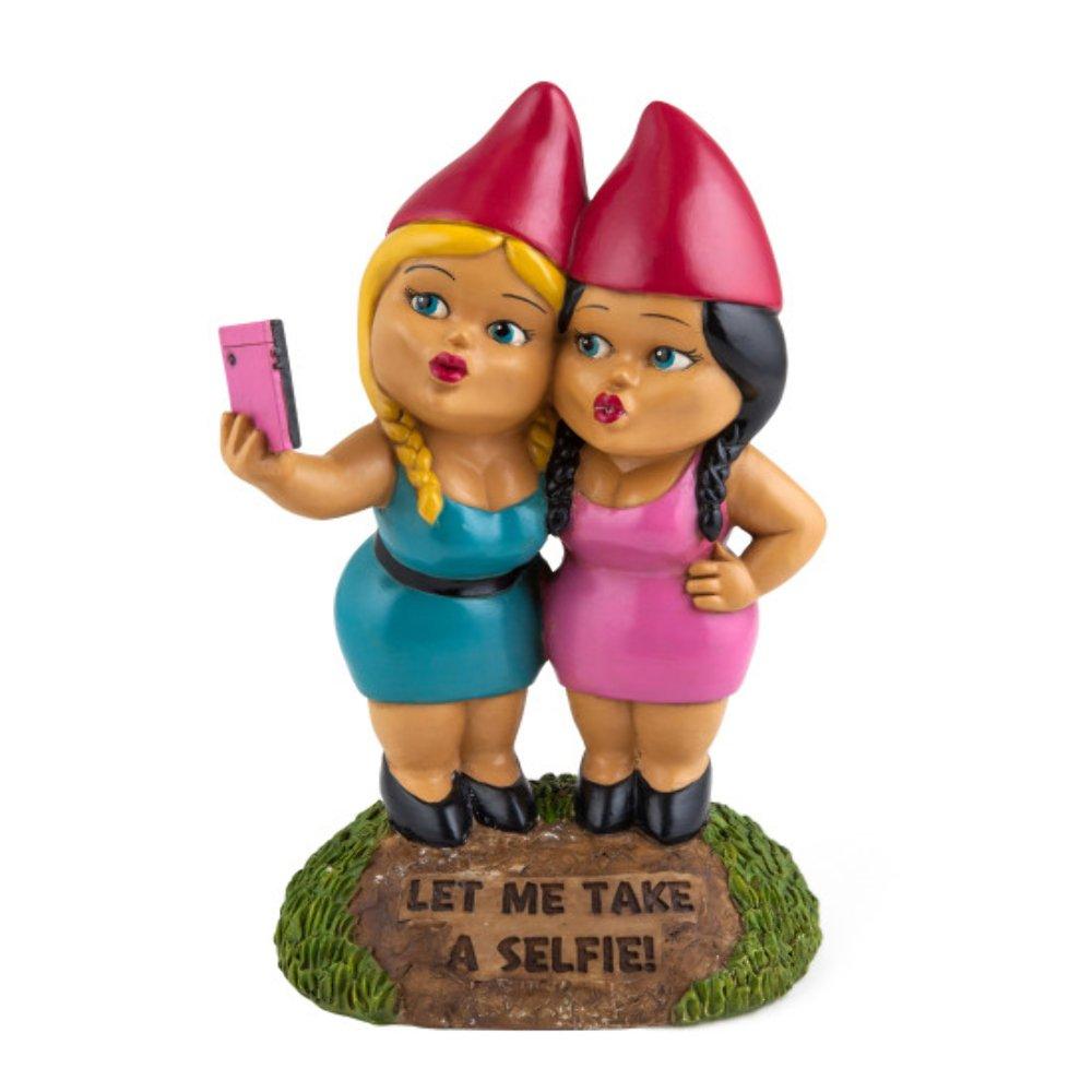 Bigmouth Selfie Sisters Garden Gnomes BM1768