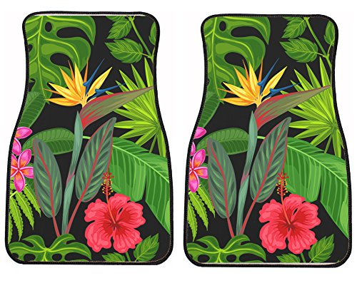 tropical car floor mats - 7