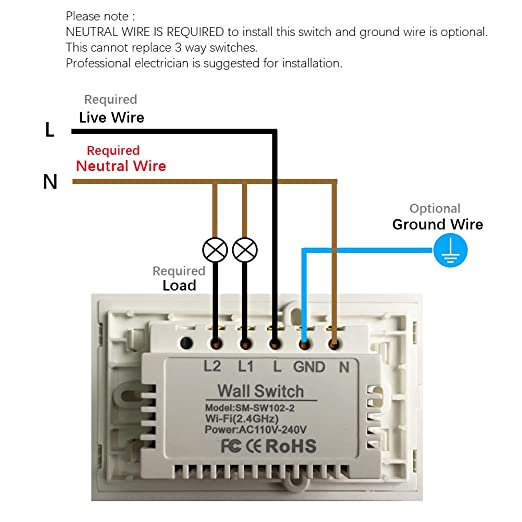 Smart Wifi Light Switches, Touch Wall Switch Panel, Replace 2 Switches on gm light switch wiring diagram, ac light switch wiring diagram, reverse light switch wiring diagram, car light switch wiring diagram, kc light wire diagram, off-road light switch wiring diagram, jd light switch wiring diagram,