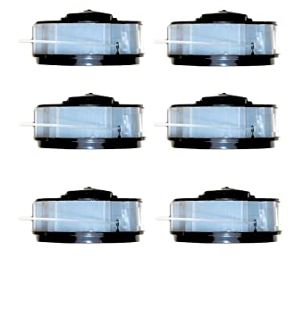 6 bobinas para desbrozadora apta para cortabordes eléctrico ALDI ...