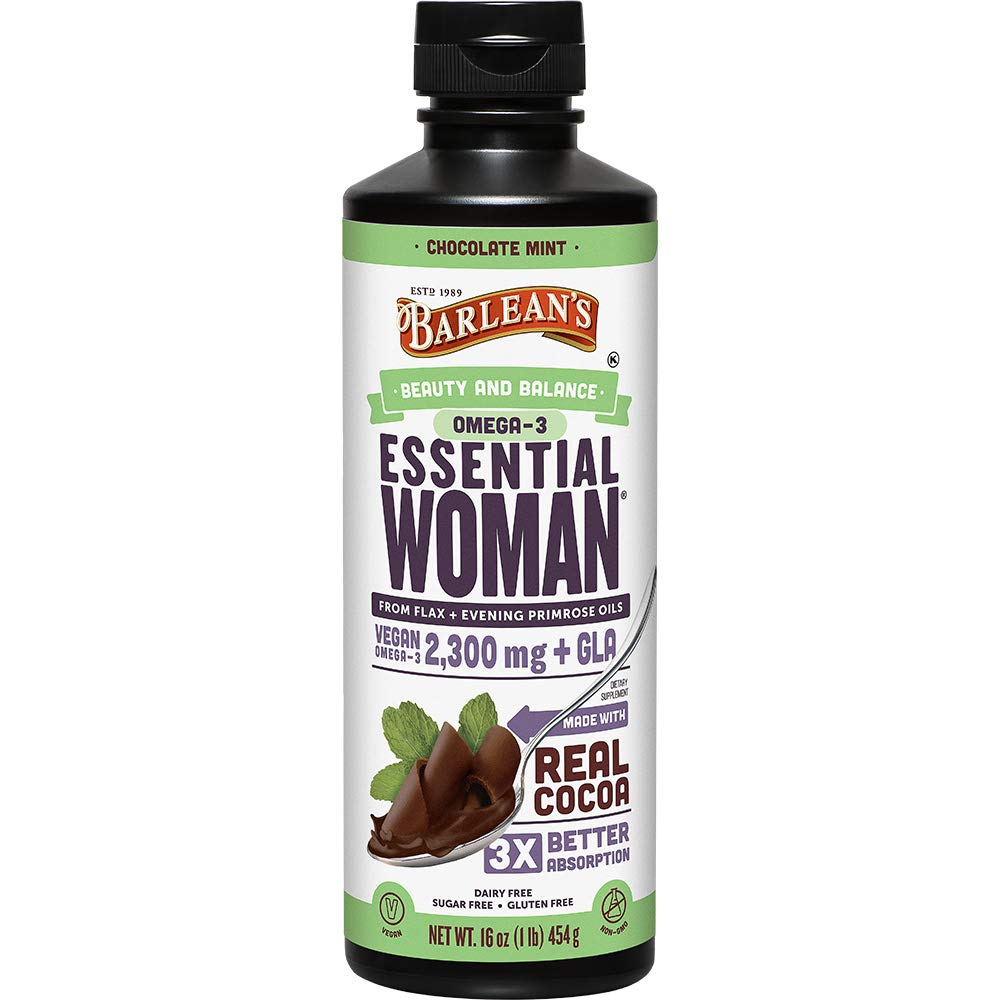 Barlean's Seriously Delicious Essential Woman, Chocolate Mint, 16-oz by Barlean's Organic Oils