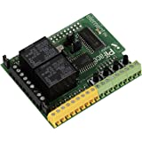 Raspberry PI, Piface 2 module for Model B+ & 2 - extensionsmodul with Ein / Ausgängen and Relais.plug direkt at Raspberry Pi GPIO-female