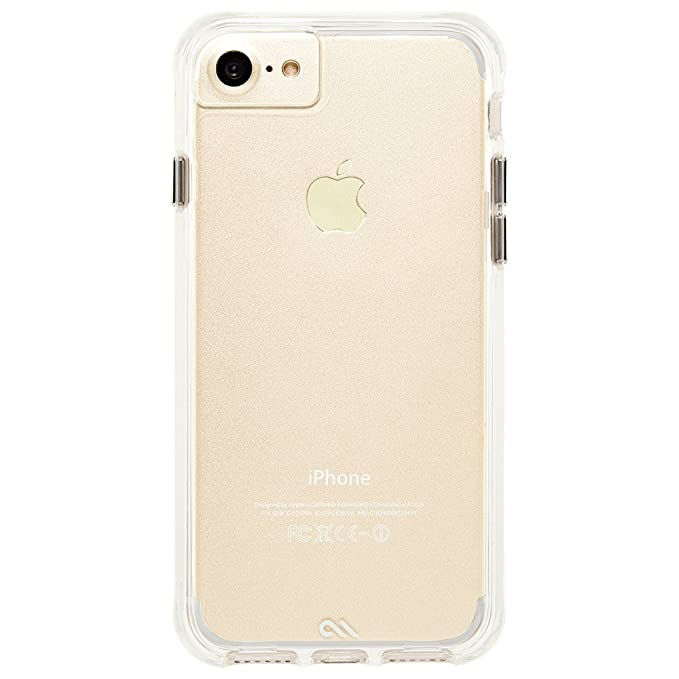 separation shoes 8345b 86c69 Case-Mate iPhone 8 Case - TOUGH CLEAR - Rugged - 10 ft Drop Protection -  Slim Protective Design for Apple iPhone 8 - Clear