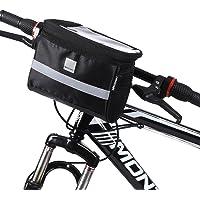 WOZINSKY Stuurtas, fietstas voor stuur, waterdichte reistas voor fiets, mountainbike, ebike, MTB, racefiets, fietstas 2…