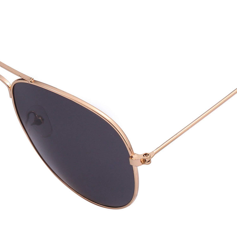 Amazon.com: Gafas de sol de metal para mujer, estilo vintage ...