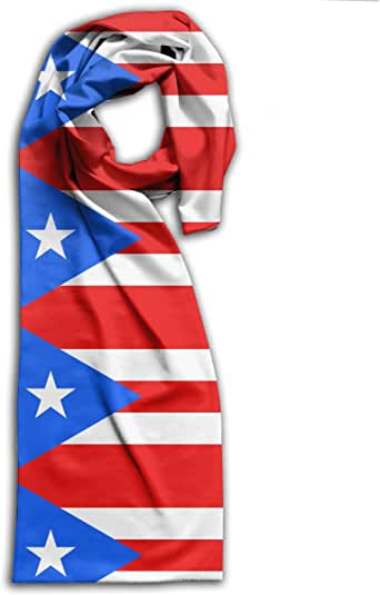 Flag Of Puerto Rico Unisex Fashion Scarf Versatile Head