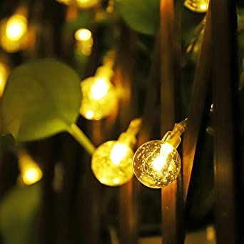 Solar Weihnachtsbeleuchtung.50 Led Solar Lichterkette Weihnachtsbeleuchtung Lichter