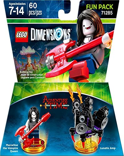 Lego Dimensions Starter Pack + Adventure Time Finn The Human Level Pack + Jake The Dog Team Pack + Marceline The Vampire Queen Fun Pack for Playstation 3 or PS3 Slim Console by WB Lego (Image #8)