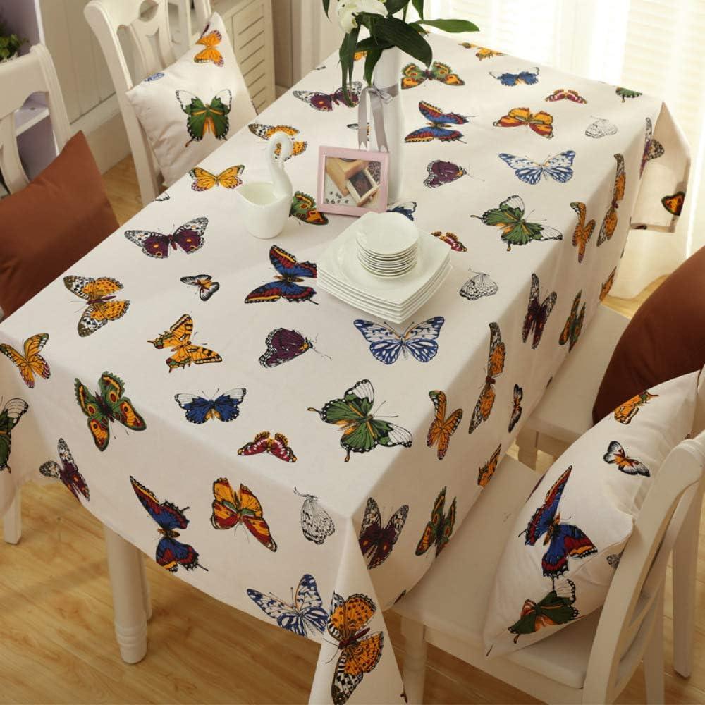 Myzixuan Servilleta de algodón poliester de fresca tela idílico estilo mantel tela gruesa restaurante paño: Amazon.es: Hogar