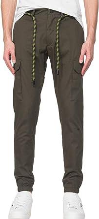 Antony Morato Pantalones Verde Militar Para Hombre 48 Amazon Es Ropa Y Accesorios