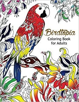 Birds - Coloring Pages for Adults | 336x260