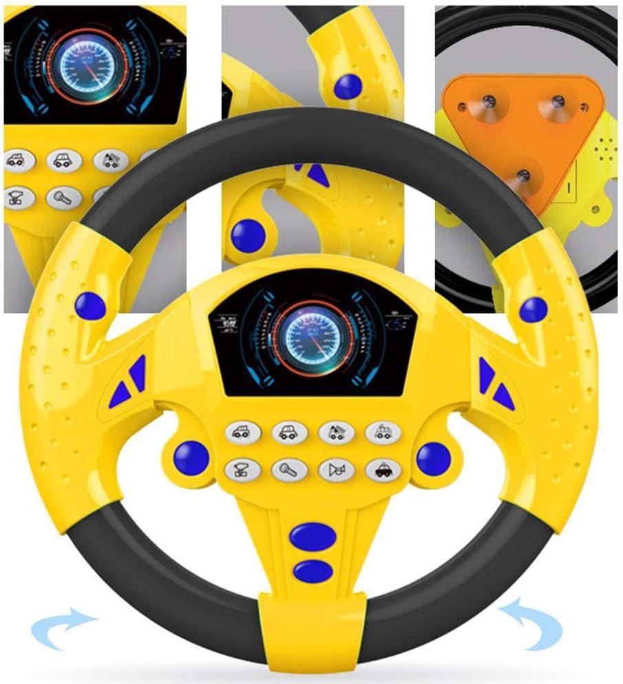 Volant Jouet enfants D/évelopper la Simulation Jouet /Éducatif Enfants Jouets Voiture pour Am/éliorer le mouvement du corps et le d/éveloppement musculaire de lenfant A