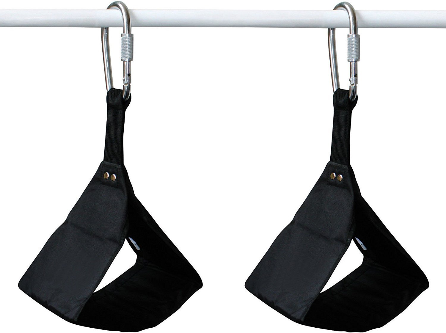 Steel D-Rings Safe Lock Door Hanging RDX AB Straps Weight Lifting Abdominal Exercise Padded Slings Great for Chinning Pull up Leg Raises Gym Fitness Workout Training