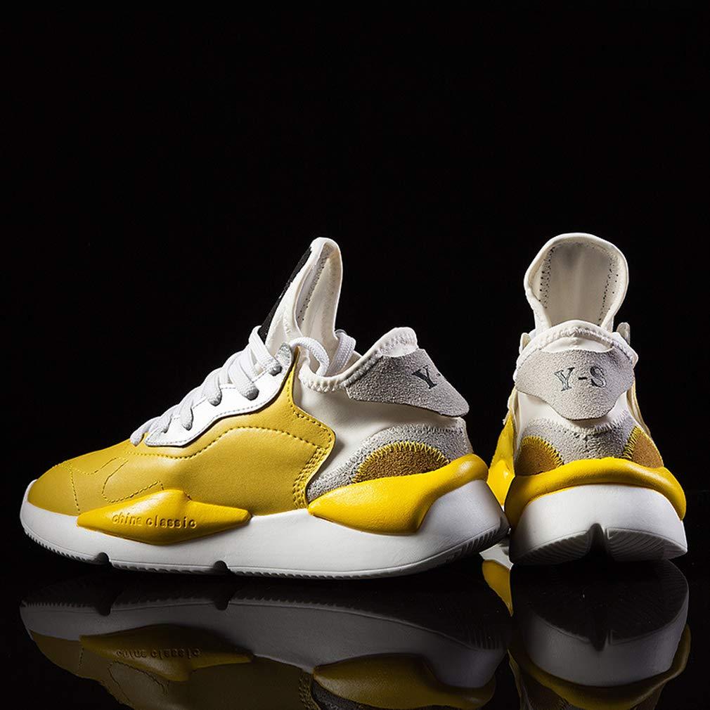 GoldGOD Dick-Soled Herren Atmungsaktive Sportschuhe Dick-Soled GoldGOD Jugend Farbabstimmung Schuhe 49a29f