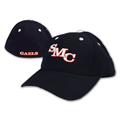 55fe091e058 Amazon.com   Saint Mary s College of CA SMC Gaels Fitted Hat - Navy ...