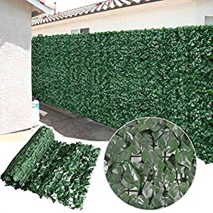 Amazon Com Synturfmats Artificial Ivy Leaf Faux Hedge