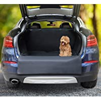 Docamor Trunk Cargo Liner for Dogs-Dog Car Seat Covers for SUV-Waterproof Dog Hammock with Side Protection-Quick Installation Anti-Scratch Nonslip Washable Nonslip Washable Pet Car Seat Cover