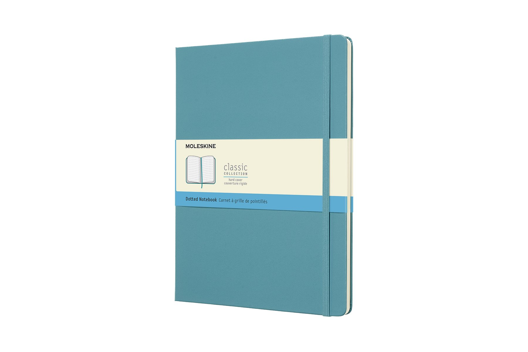 Moleskine Classic Hard Cover Notebook, Dotted, XL (7. ()