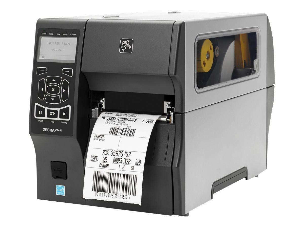 Trasferimento termico Con cavo e senza cavo Zebra ZT410 stampante per etichette CD