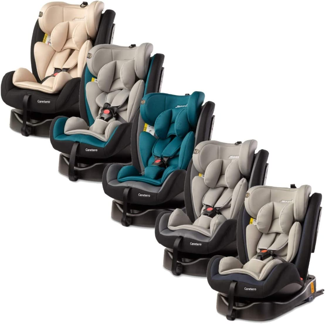 MOKKI Si/ège auto pivotant 360/° Isofix 0-36 kg Groupe 0//1//2//3 Turquoise