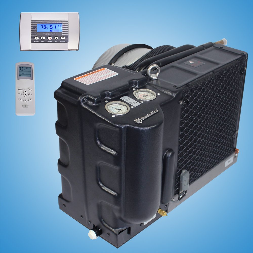 14000 Btu h Self Contained Marine Air Conditioner and Heat Pump 110 120V 60hz