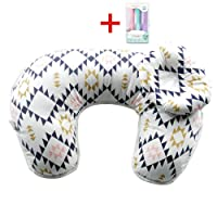 FORSHUYU Pillow 2Pcs Newborn Lounger Detachable U-Shaped Maternity Breastfeeding Nursing Support Pillows